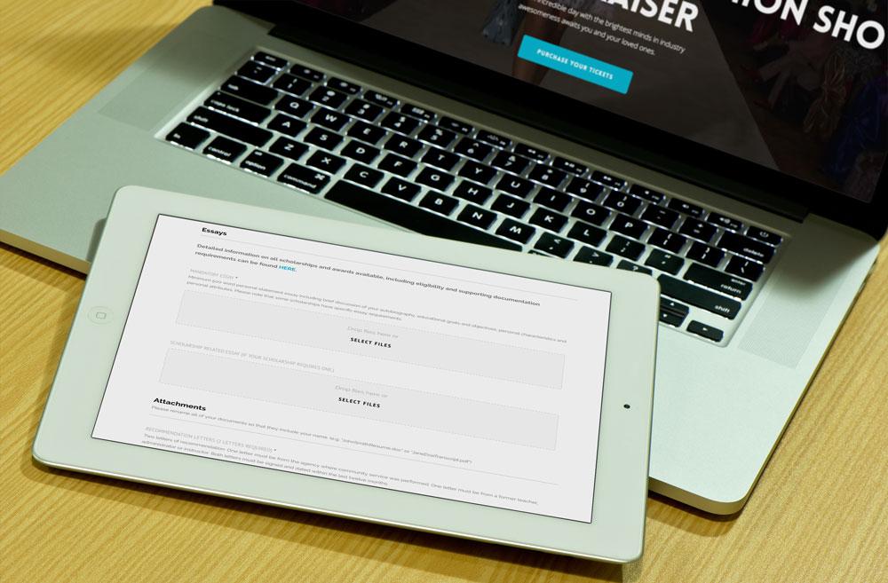 non-profit-website-design-forms